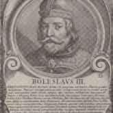 Bolesław Krzywousty, miedzioryt ca 1703. Benoit Farjat (1646-1724). Źródło: Polona
