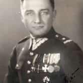 """Portret mjr Henryka Dobrzańskiego """"Hubal"""" nieznanego autorstwa (1936). Źródło: Wikipedia"""