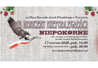 III Koncert Niepodległości na pl. Marszałka Józefa Piłsudskiego