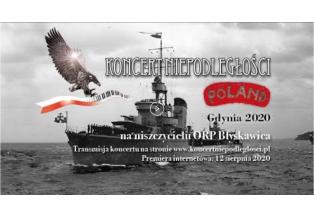 """Koncert Niepodległości """"Poland"""" na ORP Błyskawica"""
