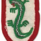 Naszywka żołnierzy Brygady Świętokrzyskiej po wcieleniu do amerykańskich oddziałów wartowniczych.