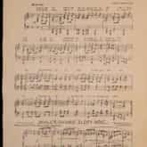 """Partytura utworu """"Pierwsza brygada"""" (ca. 1920). Źródło: Polona"""