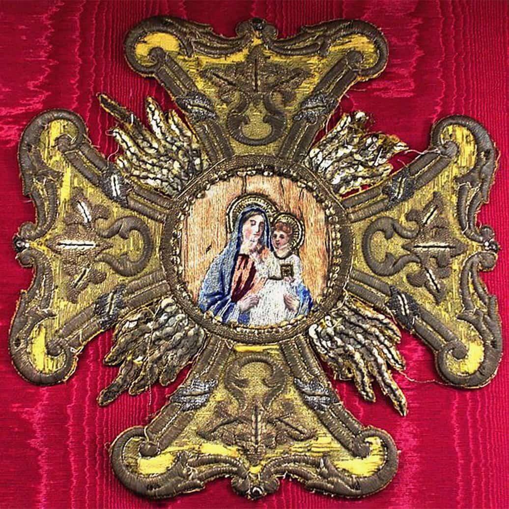Krzyż Konfederacji Barskiej. Źródło: Wikipedia