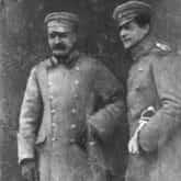 Józef Piłsudski w towarzystwie Bolesława Wieniawy-Długoszowskiego. Źródło: Narodowe Archiwum Cyfrowe