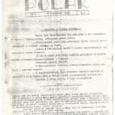 Czasopismo POLAK z roku 1940, w którym został opublikowany utwór Modlitwa NSZ.