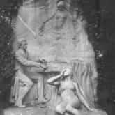 Pomnik Fryderyka Chopina w Parku Monceau w Paryżu. Źródło: Narodowe Archiwum Cyfrowe