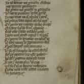 Pieśń Bolezlaue, Bolezlaue, Dux Gloriosisime w najstarszym zachowanym odpisie Kroniki Polskiej Galla Anonima (Rękopis Zamojskich, ok.1360. Źródło: Polona