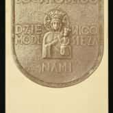 Ryngraf na pamiątkę internowania Dywizji Strzelców Pieszych. Źródło: Polona