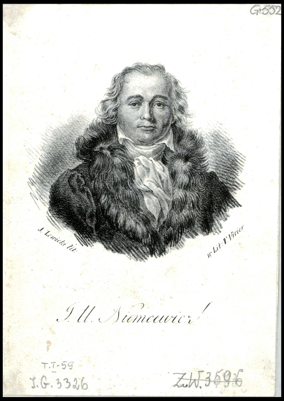 Julian Ursyn Niemcewicz. Według rysunku Antoniego Brodowskiego. Źródło: Polona