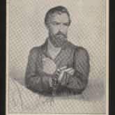 Portret Waleriana Łukasińskiego. Pocztówka z r. 1910. Źródło: Polona